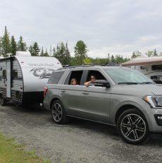 La vie de camping en famille